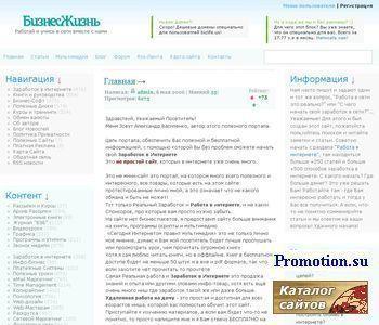 Заработок в Интернете, работа в интернете - http://bizlife.us/