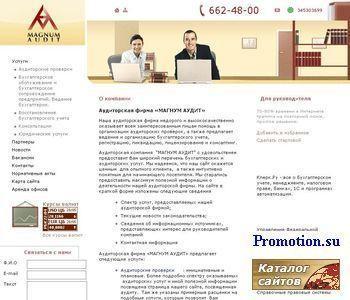 Аудиторская компания МАГНУМ АУДИТ - http://www.magnumaudit.ru/